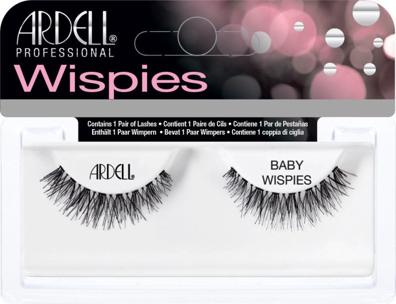 Ardell Prof. Natural Baby wispies Black(Pack of 1)
