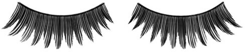 GlamGals Stylish Soft Thick False Eye Lashes For Women(Pack of 1)