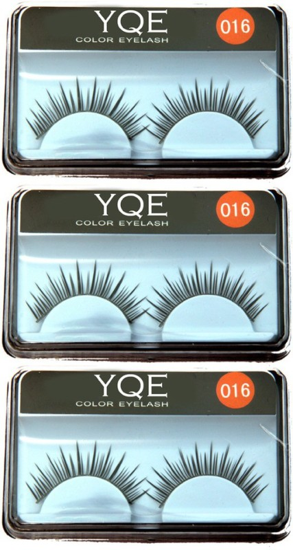 YQE Styling Eyelash Day and Night Pack(Pack of 3)