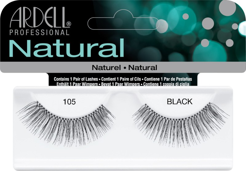 Ardell Natural Strip Lashes105 Black(Pack of 1)