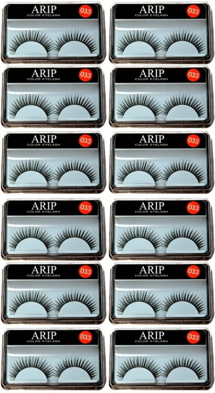 AARIP Styling Eyelash Day and Night Pack(Pack of 12)