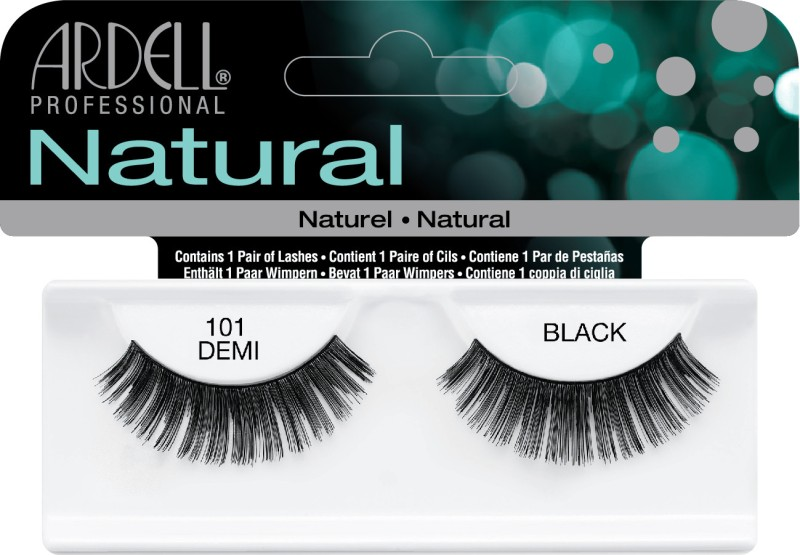 Ardell Natural Strip Lashes101 Demi Black(Pack of 1)