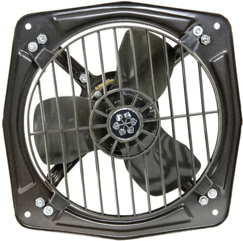 Usha Turbo Jet 300 3 Blade Exhaust Fan(Grey)