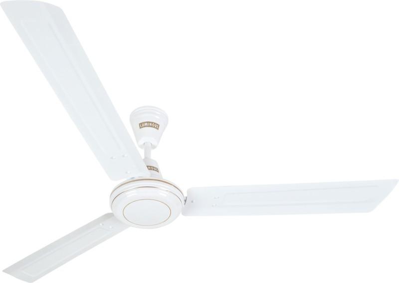 Luminous Kraft 3 Blade Ceiling Fan(White)