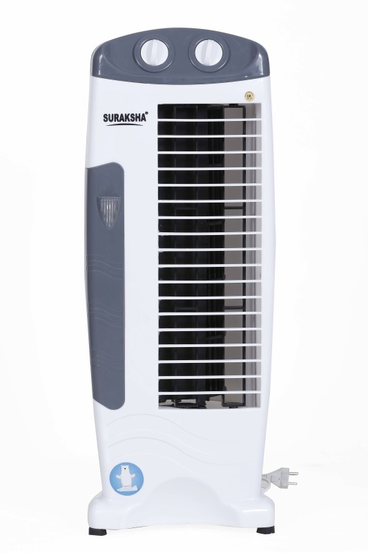 Suraksha Cool Deco 1 Blade Tower Fan(Grey)