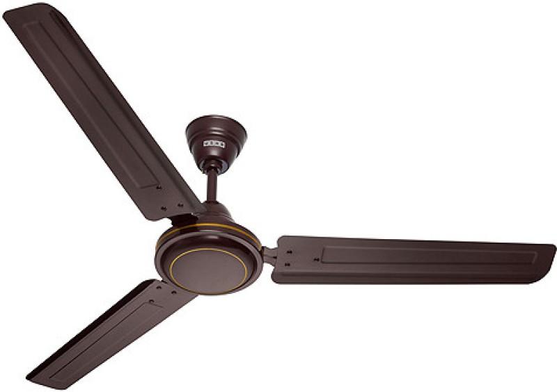Usha Aerostyle 1200mm 3 Blade Ceiling Fan(Brown)