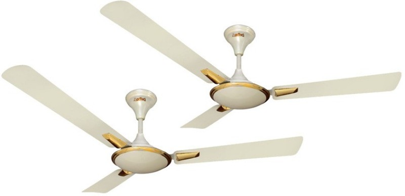 ACTIVA ORNET 5 STAR ( PACK OF TWO ) 3 Blade Ceiling Fan(IVORY)