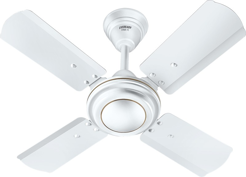 Eveready Fans FAB M 600 White 4 Blade Ceiling Fan(White)