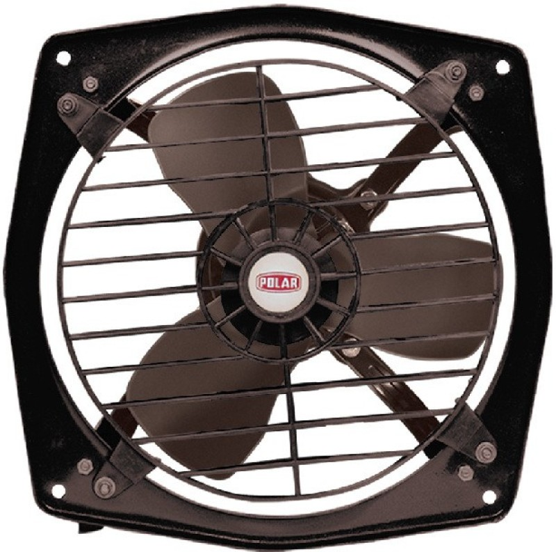 Polar Clean Air Delux With Guard 1 Blade Wall Fan(Black)
