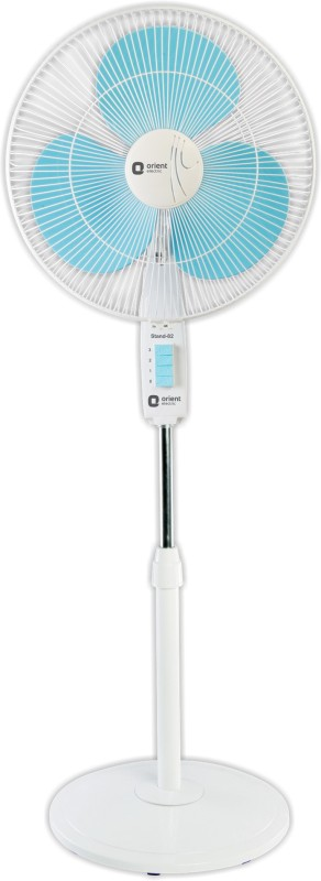 Orient Electric Stand 82 400 mm 3 Blade Pedestal Fan(Crystal white, Pack of 1)