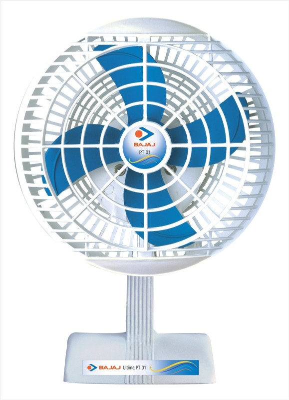 Bajaj Ultima PT01 200mm 4 Blade Table Fan(White, Blue)