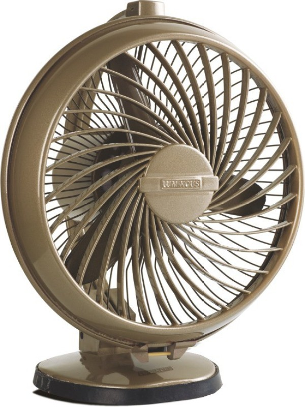 Luminous Buddy 3 Blade Table Fan(beige)