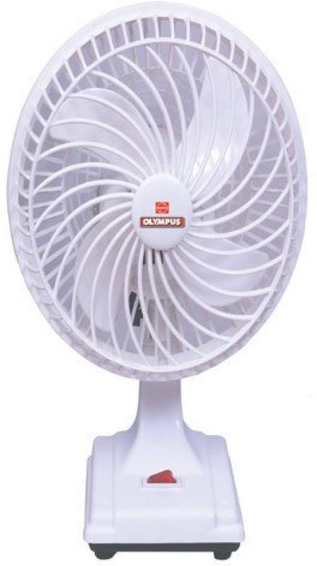Olympus Beauty 4 Blade Table Fan(White)