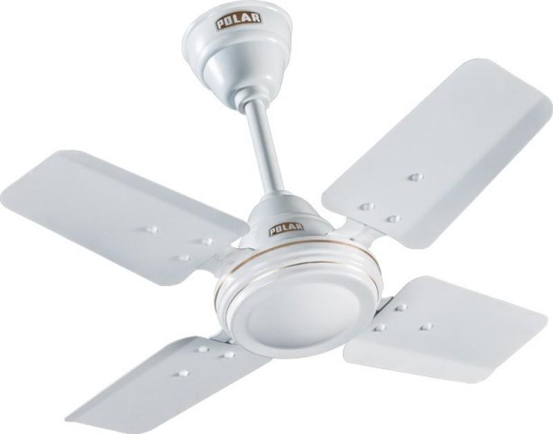 Polar Super Speed 4 Blade 4 Blade Ceiling Fan(White)