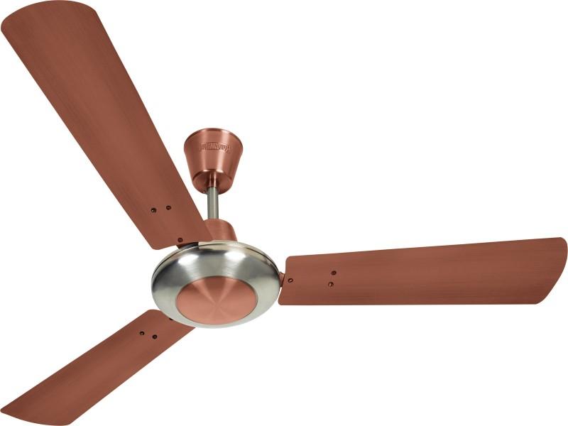 Luminous Enchante Mettalica 1200 mm 3 Blade Ceiling Fan(Copper, Pack of 1)