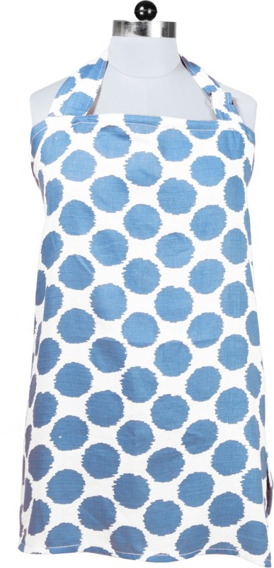 Bacati Nursing Cover Feeding Cloak(Blue)