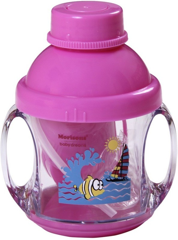 Morisons Baby Dreams 5 In 1 Feeding Cup - Pink  - Polypropelyne(Pink)
