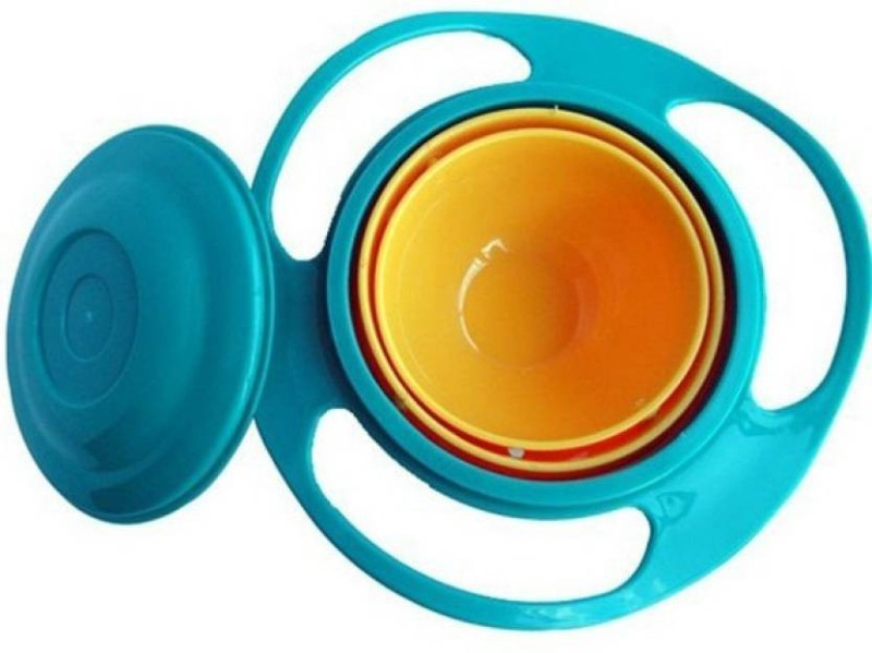 Trisha Kids Gyroscopic with Lid Snack  - Plastic(Multicolor)