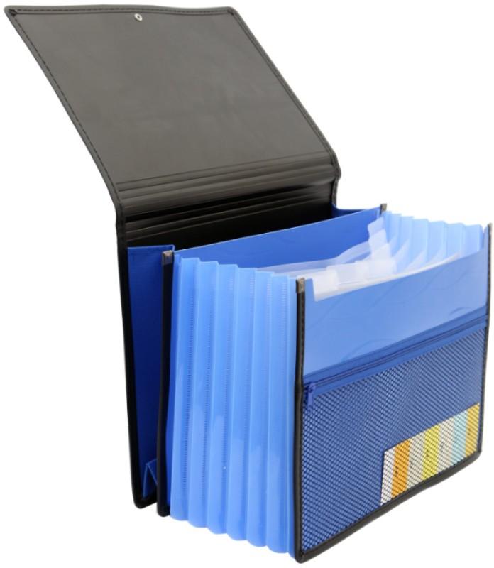 Solo Document Bag(Set Of 1, Blue)