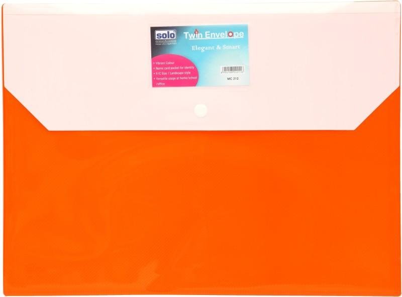 Solo Clear Bag(Set Of 10, Orange)