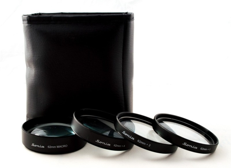 Sonia Macro Kit With 4 Lenses Close-up Filter(62 mm)