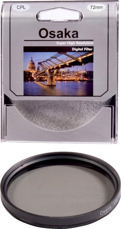 Osaka 72 mm Circular ( CPL) Polarizing Filter (CPL)(72 mm)