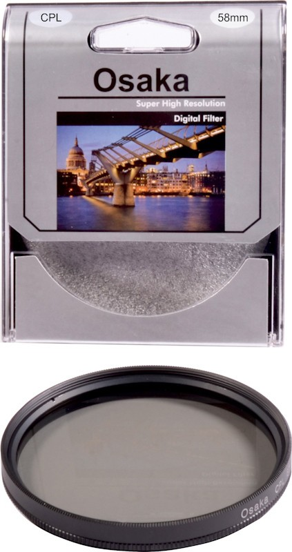 Osaka 58 mm Circular ( CPL ) Polarizing Filter (CPL)(58 mm)