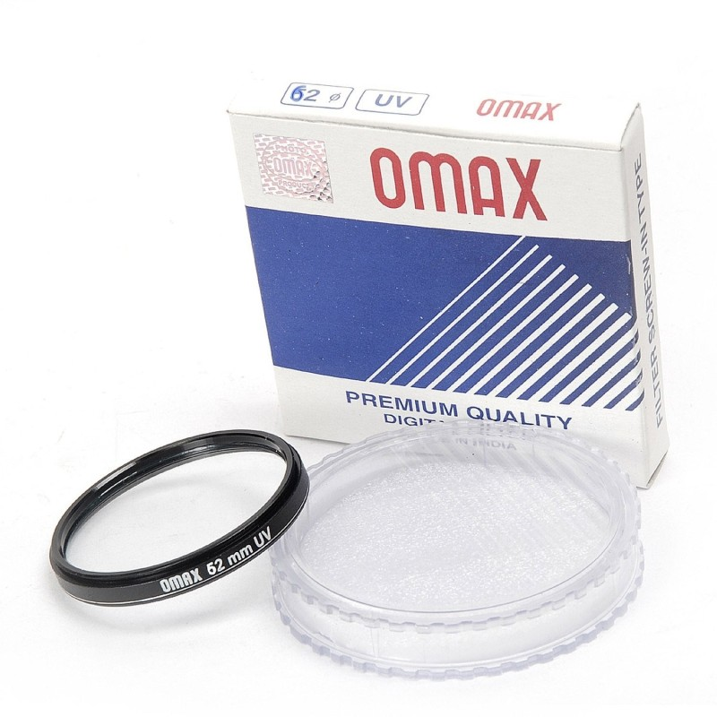 Omax 62mm UV Filter for Tamron AF 70 - 300...