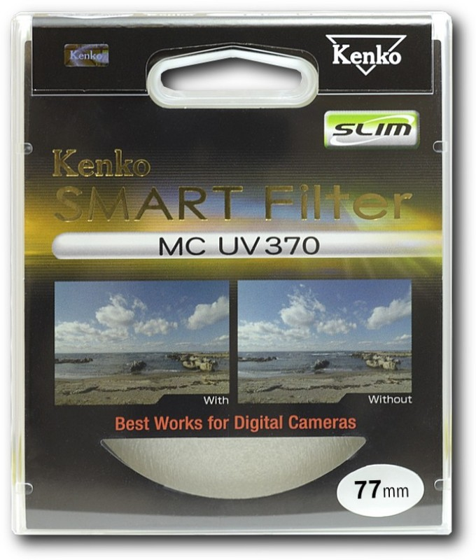 Kenko Smart MC 370 SLIM 77mm UV Filter(77 mm)