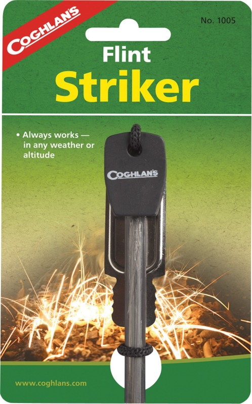 Coghlans 10056389010052 Flint Fire Starter Striker Included