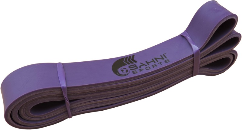 Sahni Sports Power Strength Medium Fitness Band(Purple, Pack of 1)