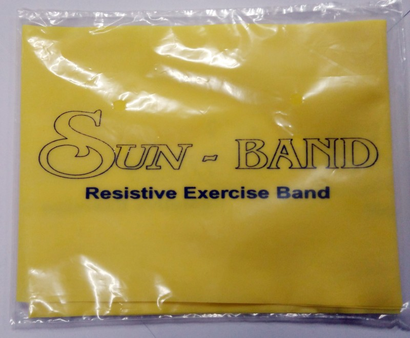 Sun Band 0401-010 Fitness Band(Yellow, Pack of 1)