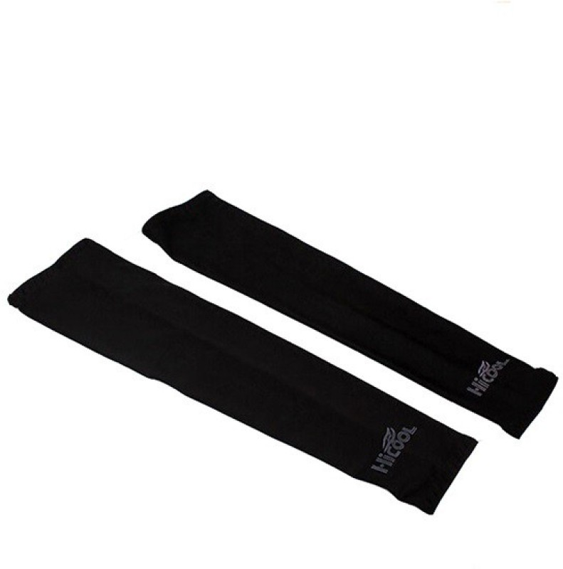 Gee Power Hi Cool Sunlight UV Protection Arm Sleeves Fitness Band(Black, Pack of 1)