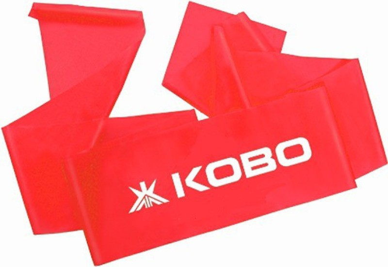 Kobo Power (Heavy) Aerobic Cardio & Exercise Resistance Band(Red)