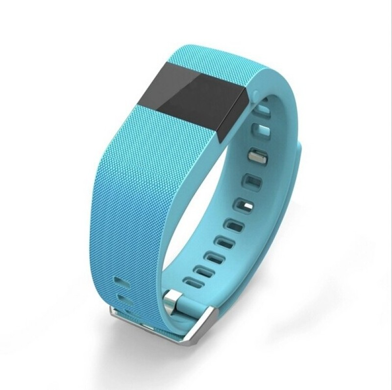 Bs Spy SMART WATCH HEART RATE MONITOR BLUETOOTH CALL NOTIFICATION 3D Pedometer Temperature Calorie Monitor band tracker Fitness Band(Blue)