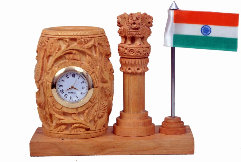 Craft Trade India Rectangle Table Miniature Flag(Polyester)