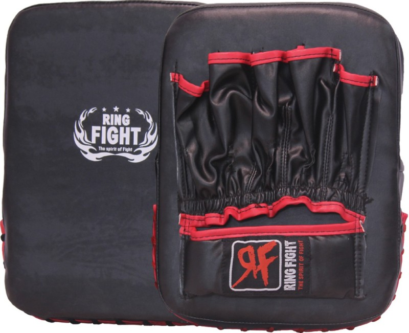 Ring Fight Kick Mitts Focus Pad(Red, Black)