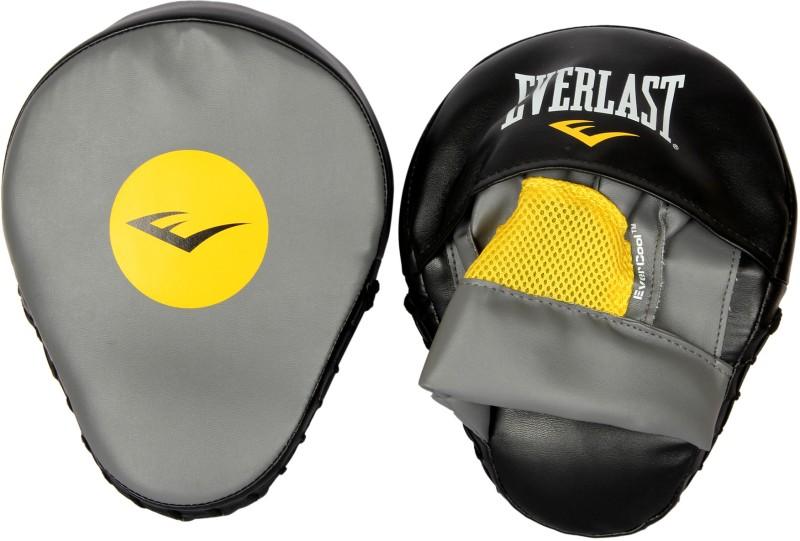 Everlast Mantis Punch Mitts Focus Pad(Black, Grey, Yellow)