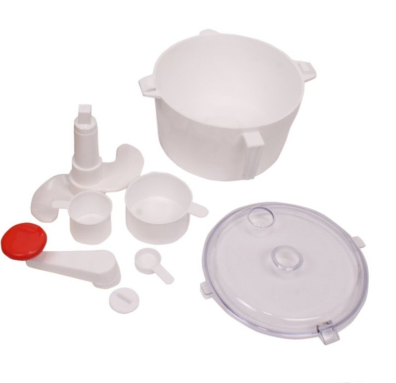 Ebigshopping Plastic Detachable Dough Maker(White)