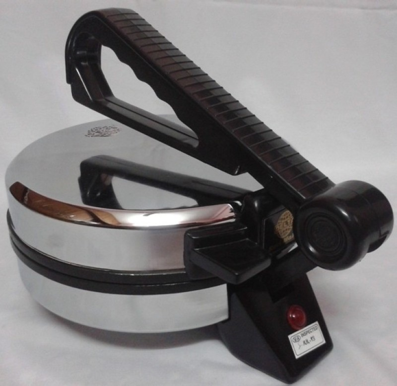 Delta Electric Roti/Khakhra Maker(Steel Polish)