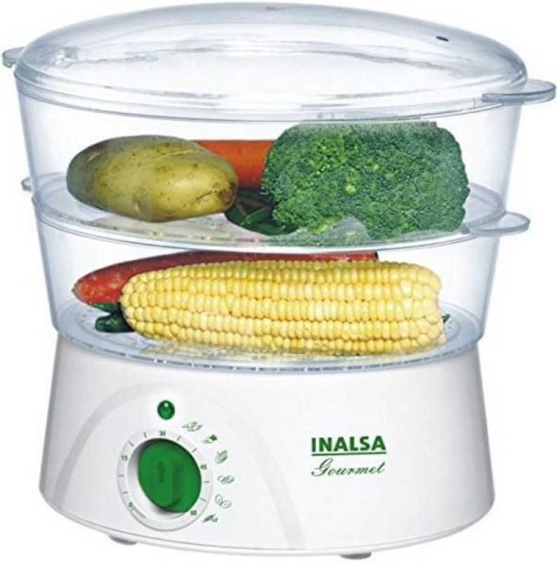 Inalsa Gourmet Food Steamer(White)