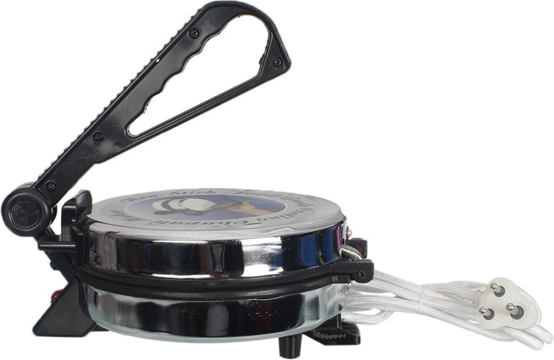 Upma Appliances Electronic Roti/Khakhra Maker(Silver)