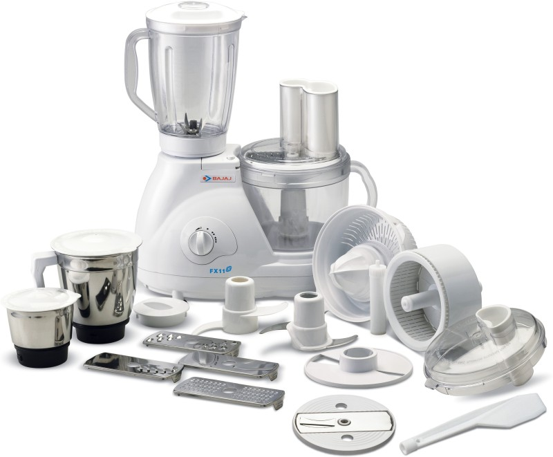 Bajaj Fx11 Food Factory 600 W Food Processor(White)