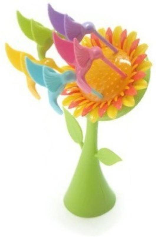 MK Sunflower Plastic Fruit Fork Set(Pack of 6)