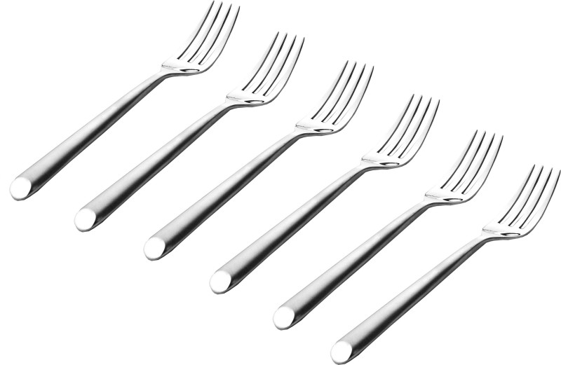 FnS Aura Stainless Steel Table Fork Set(Pack of 6)