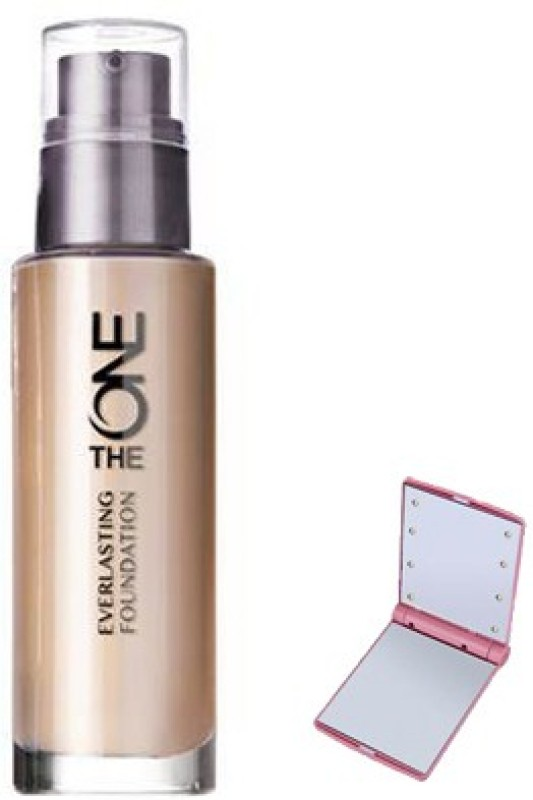 Oriflame Sweden THE ONE EVER LASTING FOUNDATION WITH SMART POCKET MIRROR Foundation(PINK, 30 ml)