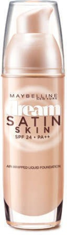 Maybelline Dream Satin Skin Liquid  Foundation(B4 - Nude Beige, 30 ml)