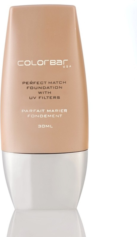 Colorbar Perfect Match Foundation(Nude Beige - 002, 30 ml)