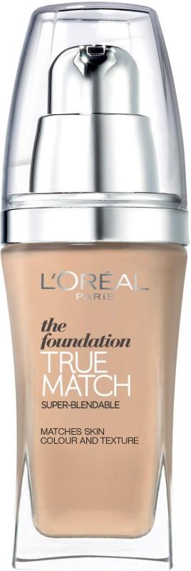 L'Oreal Paris True Match Super Blendable Makeup Foundation(N4 BEIGE, 30 ml)