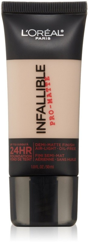 L'Oreal Paris Infallible Pro-Matte Makeup Foundation(Classic Ivory, 30 ml)